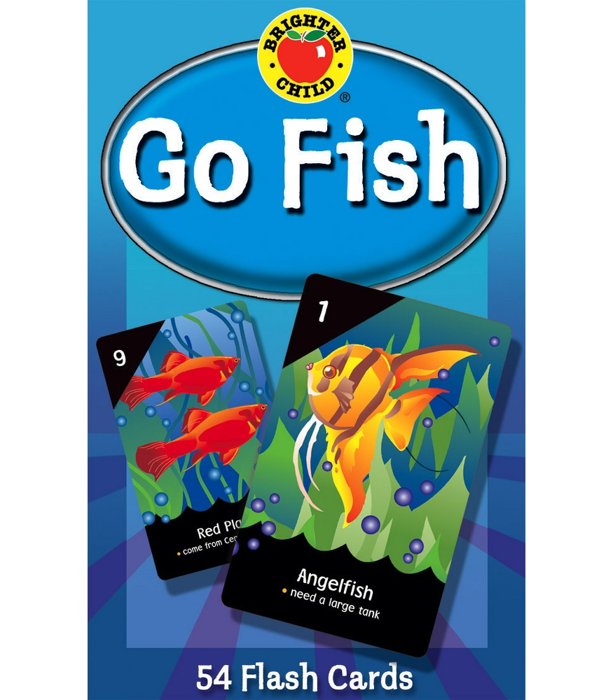 Go fish card game teachers bazaar for Fish card game