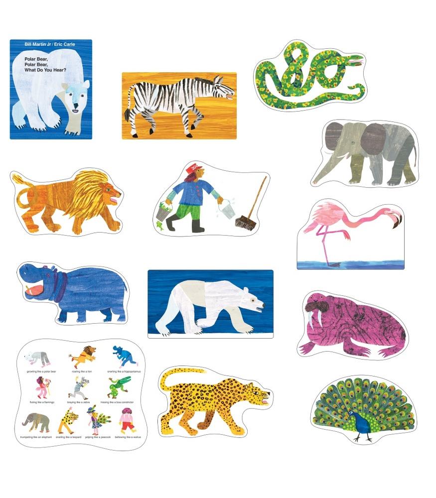 Polar Bear, Polar Bear, What Do You Hear? Bulletin Board Set ...
